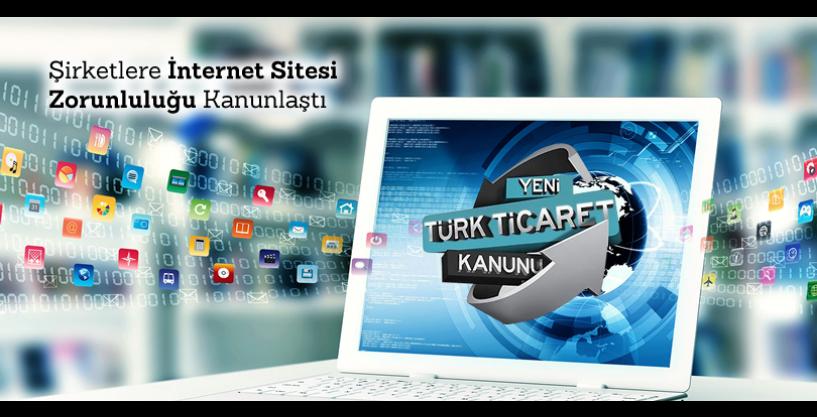 https://hrbilisim.com/Şirketlere İnternet Sitesi Zorunluluğu Kanunlaştı, 13 Ocak 2011 tarihinde yasalaşan Türk Ticaret Kanunu 1524üncü maddesi ile şirketlere İnternet sitesi