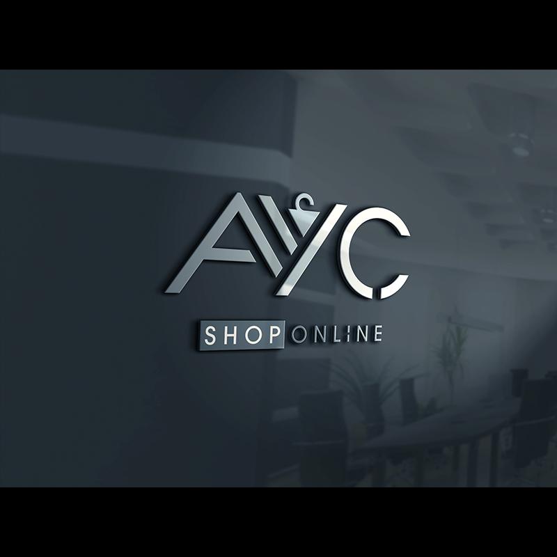 AYC Shop Online için yapılan logo kartvizit ve antetli kağıt tasarımı tarafımızca teslim edilmiştir. Mutlu bol kazançlı işler dileriz. Sakarya logo tasarım