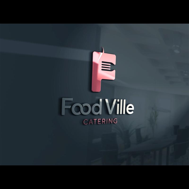 Sakarya da hizmet vermekte olan Food Ville Catering şirketi için yapılmış logo çalışması